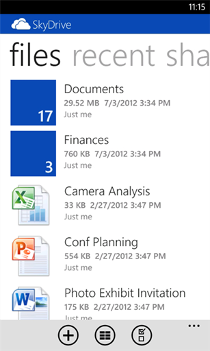SkyDrive Windows Phone 2.2 (1)