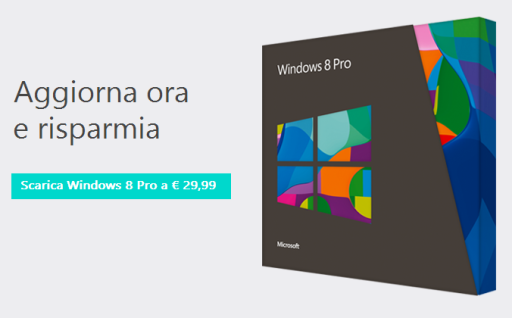 Windows 8 upgrade in promozione come comprarlo ora e for La licenza di windows sta per scadere