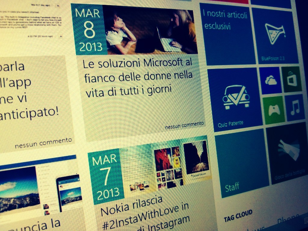 WindowsBlogItalia 2013 Screen