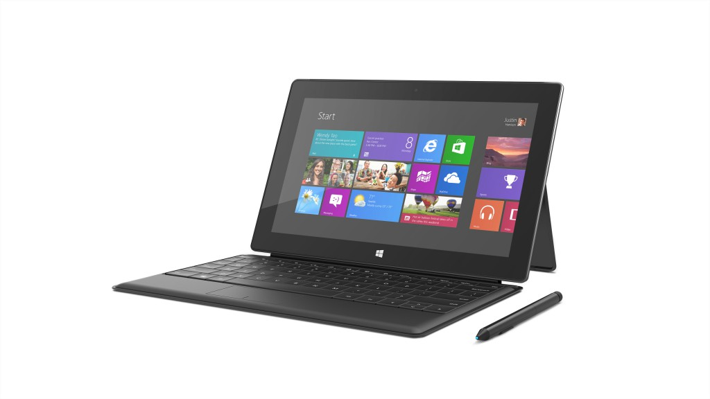 Il Surface Pro con la Type Cover