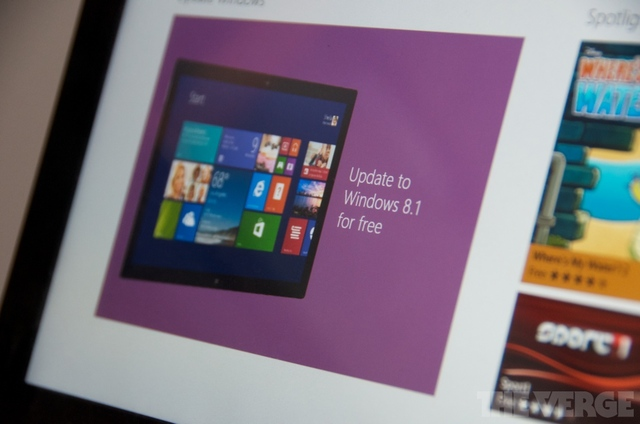 windows 8.1 update rt