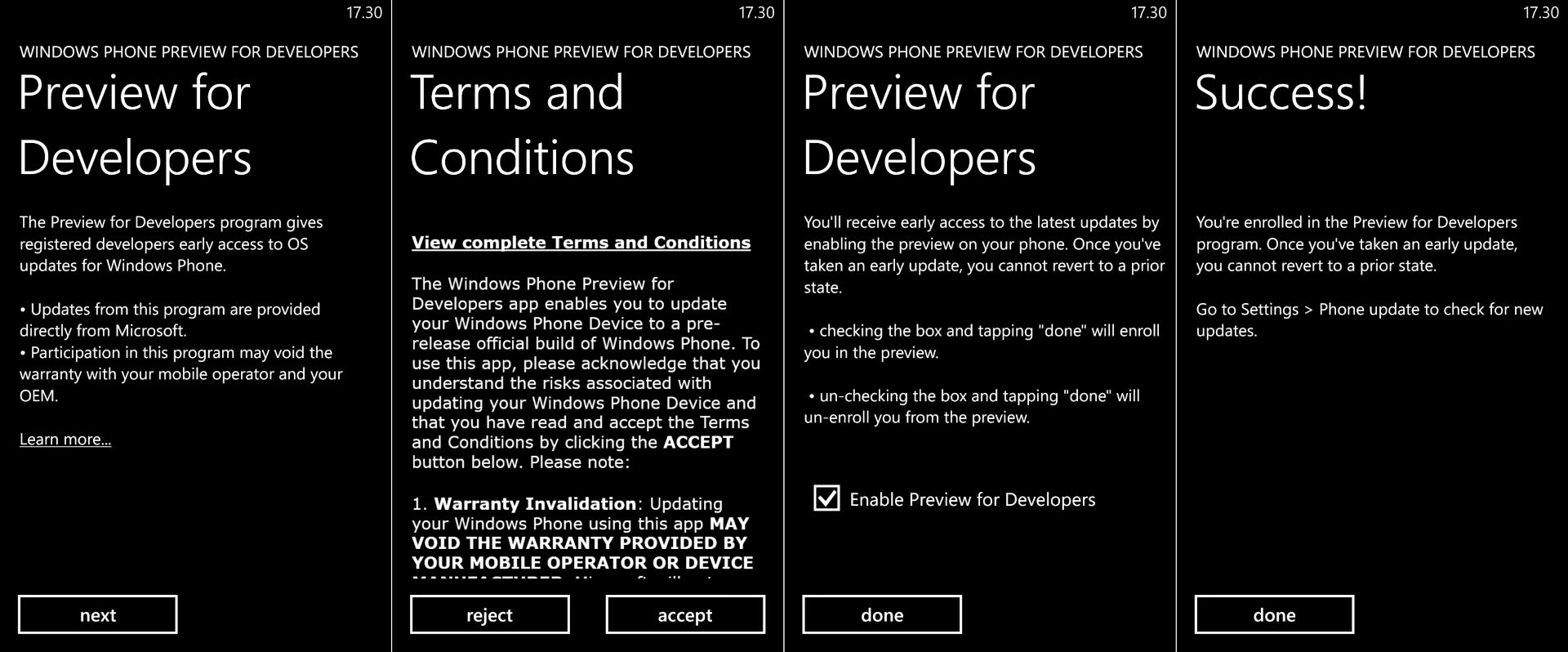 developer_preview (Custom)