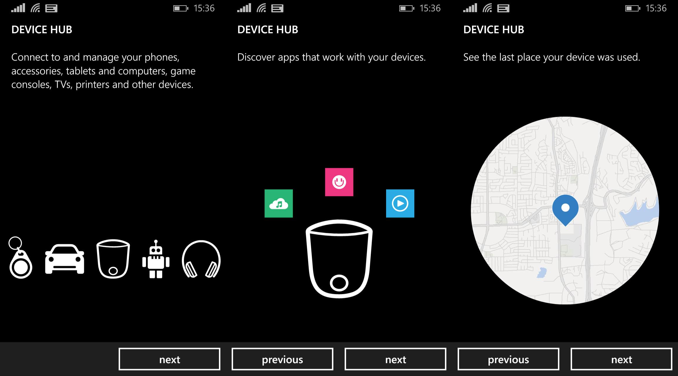 Device Hub Lumia