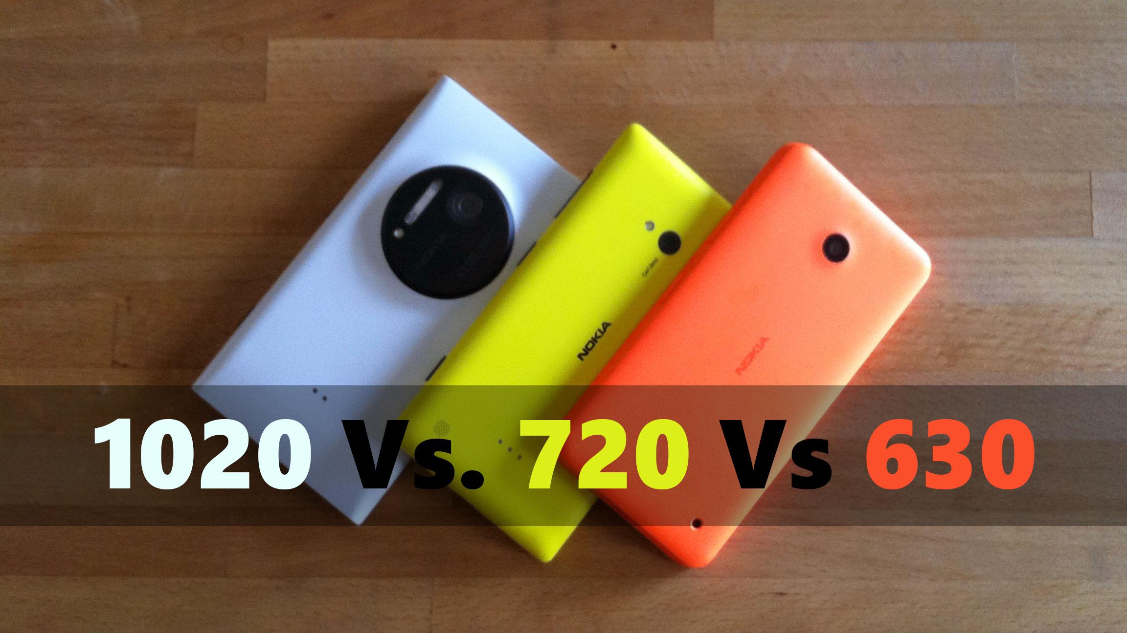 Lumia 1020 720 630
