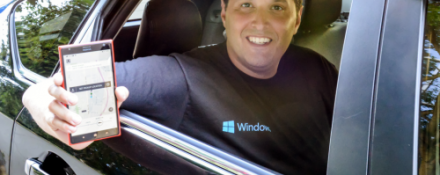 Terry Myerson Uber app Windows 10 Mobile