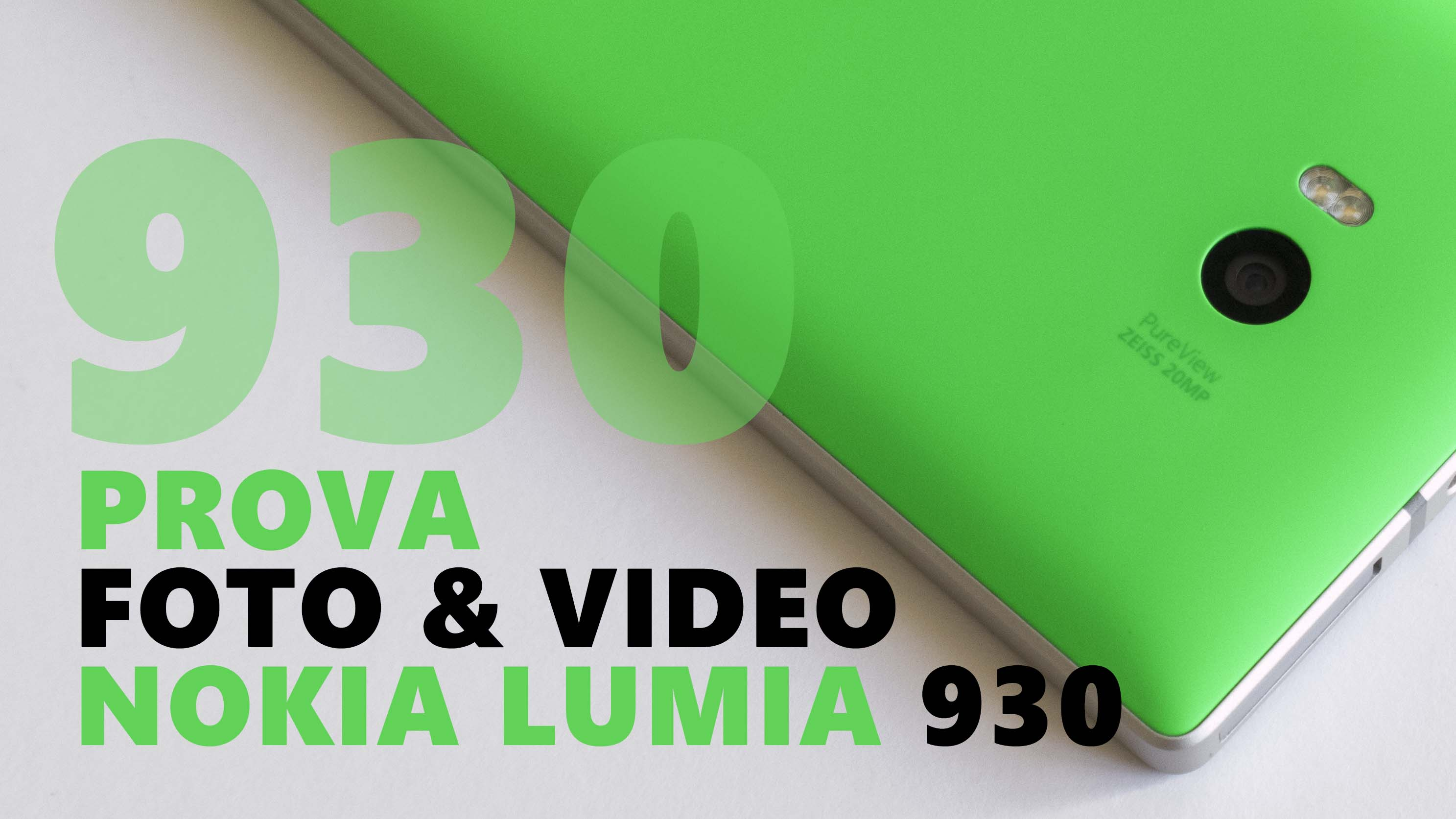 Foto e Video Lumia 930 Big