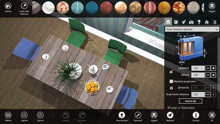 Live Interior 3D Windows 8 app designer 3ds materials forniture design (5)