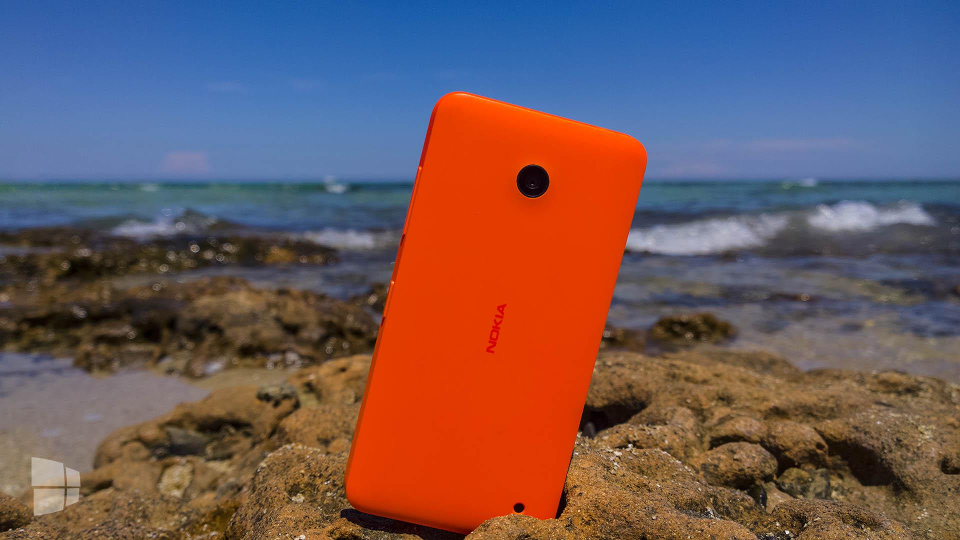 Lumia 630 spiaggia