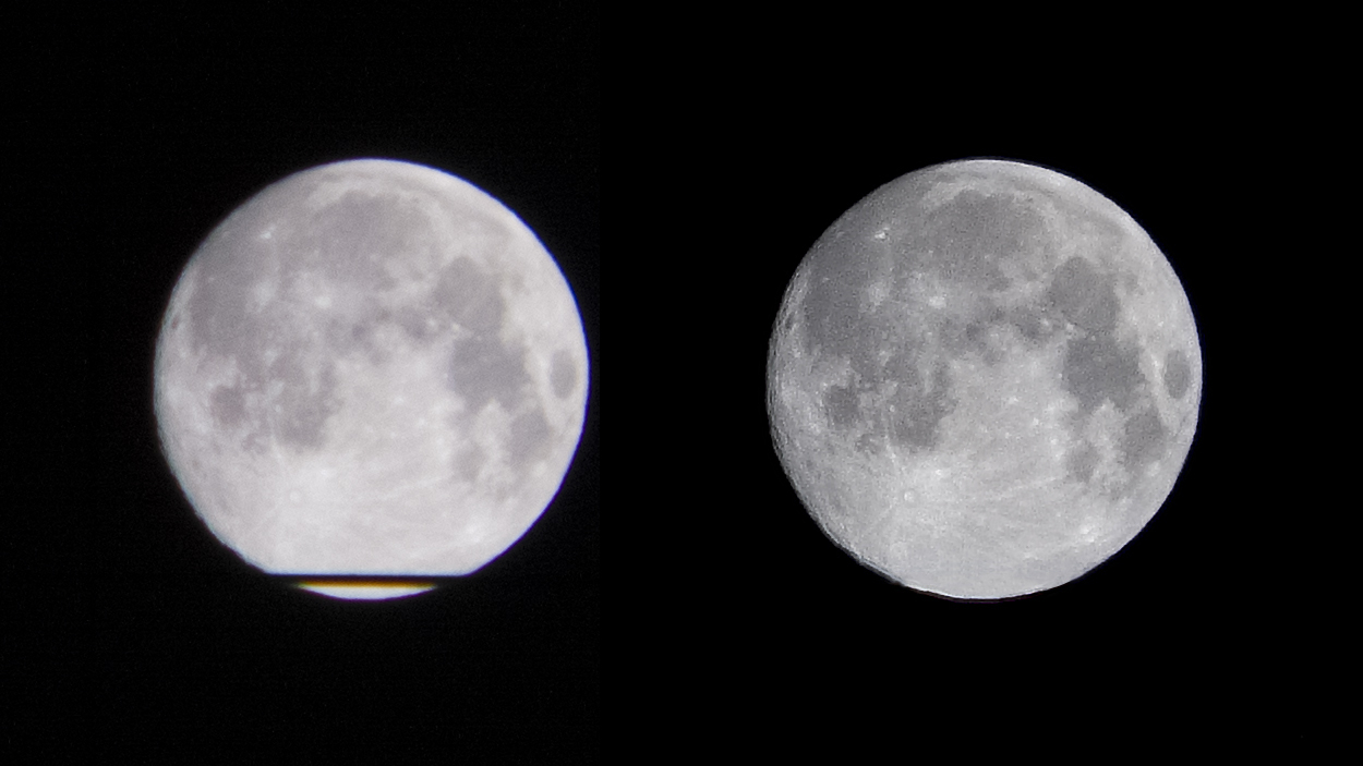 Luna originale vs Camera Raw Lumia 1020