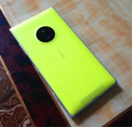 Nokia Lumia 830 Yellow (1)