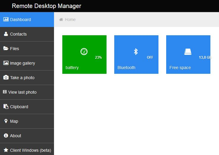 Remote Device Manager