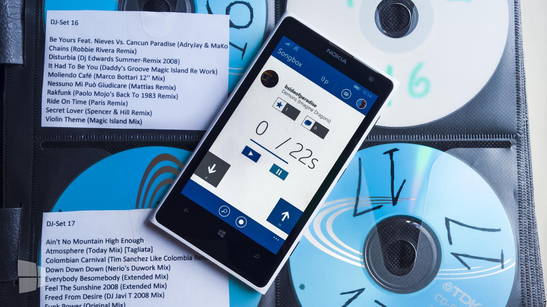 Songbox Windows Phone