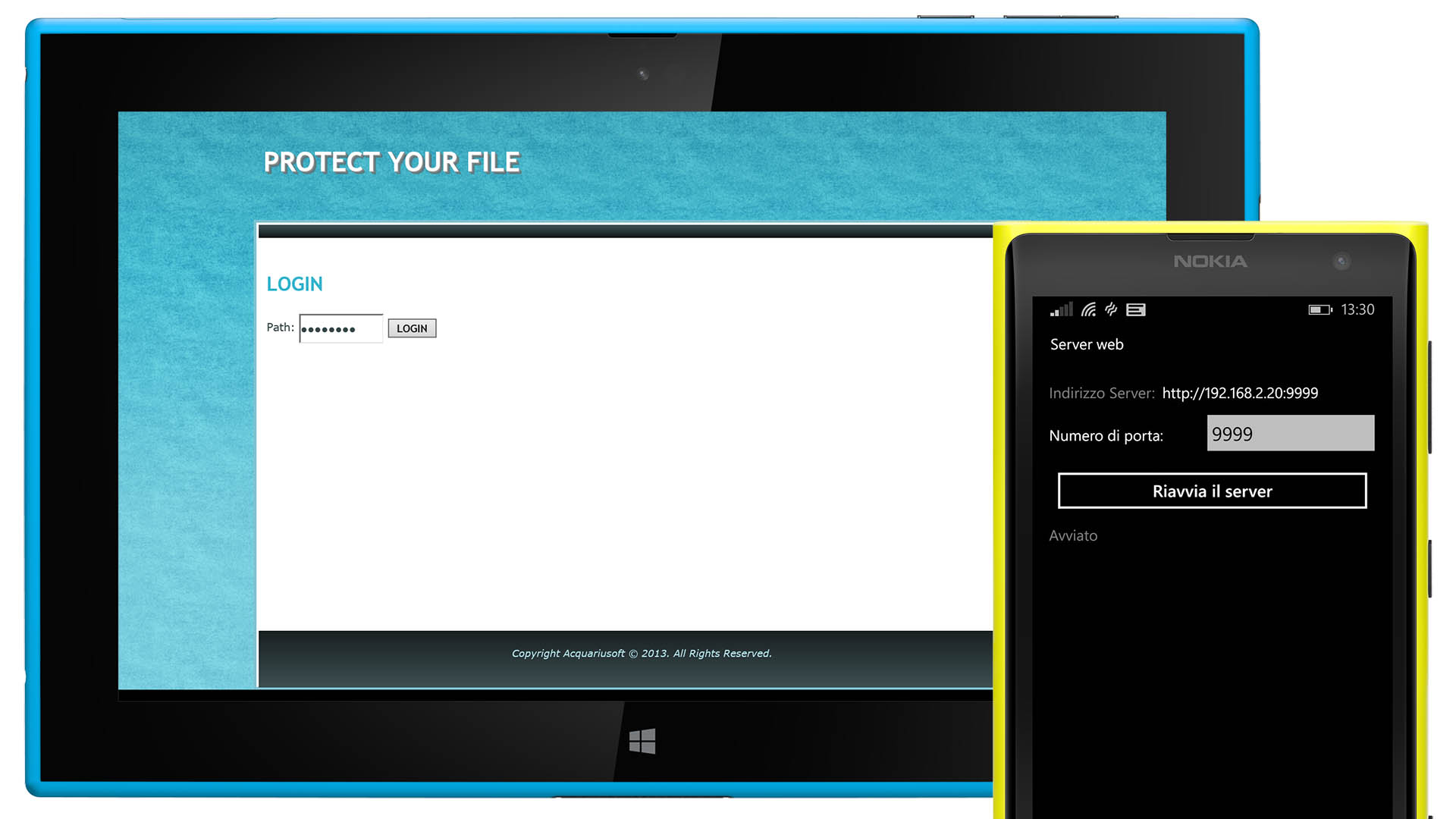Protect Your File Tablet