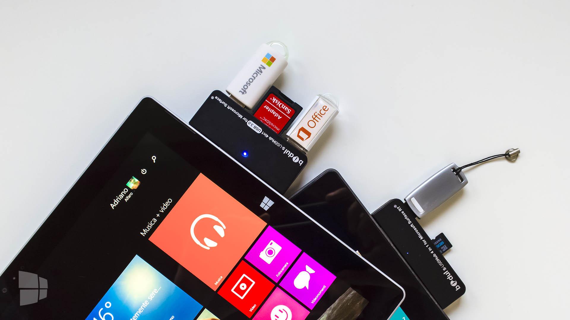 Bidul Microsoft Surface Pro USB Hub (4)