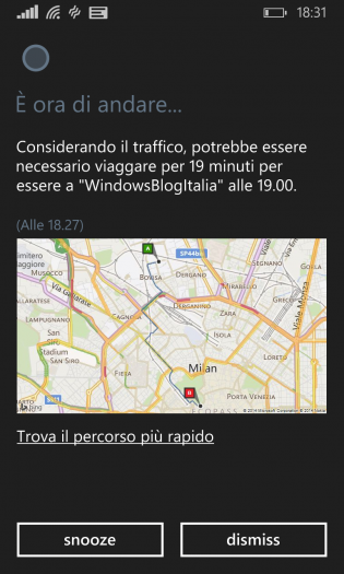 Cortana Italiano WindowsBlogItalia