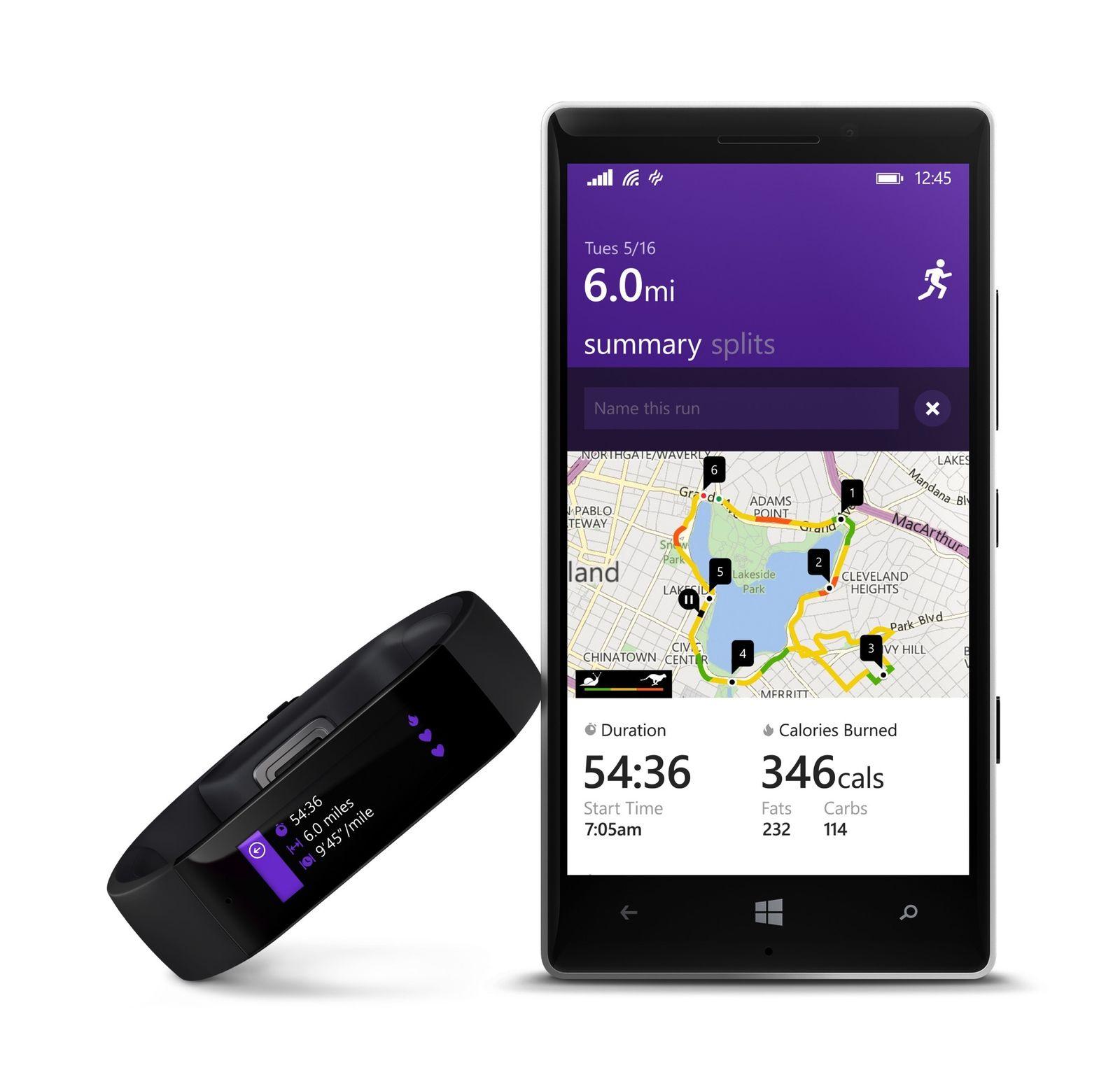 Microsoft Band Lumia 930