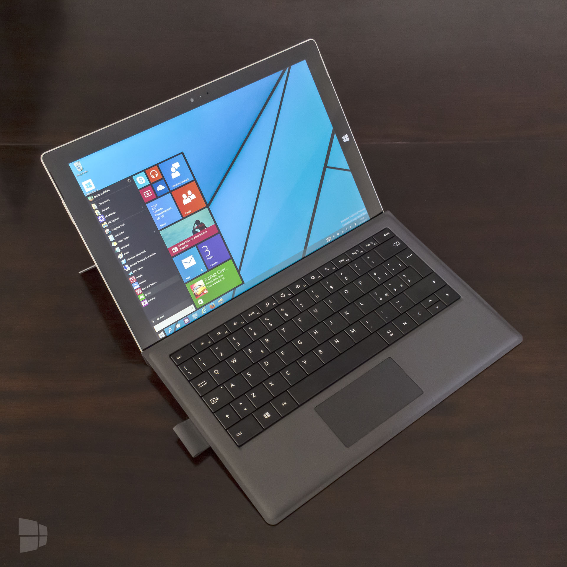 Surface Pro 3 Windows 10