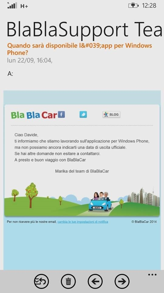 blablacar windows phone