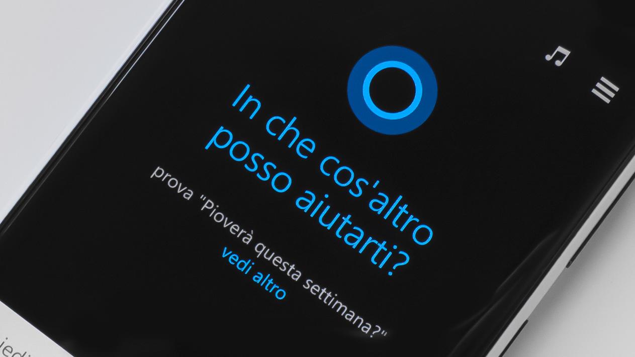 Cortana in evidenza