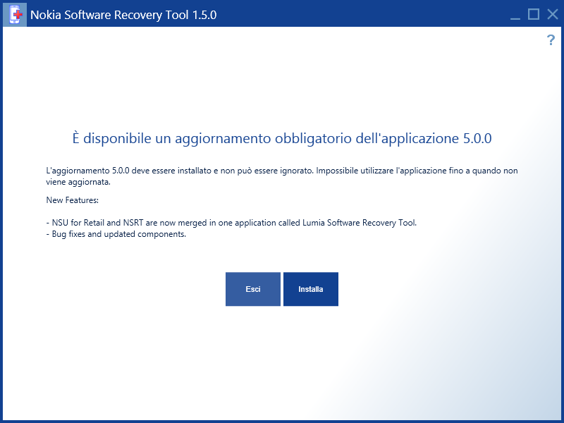 Программу Lumia Software Recovery Tool