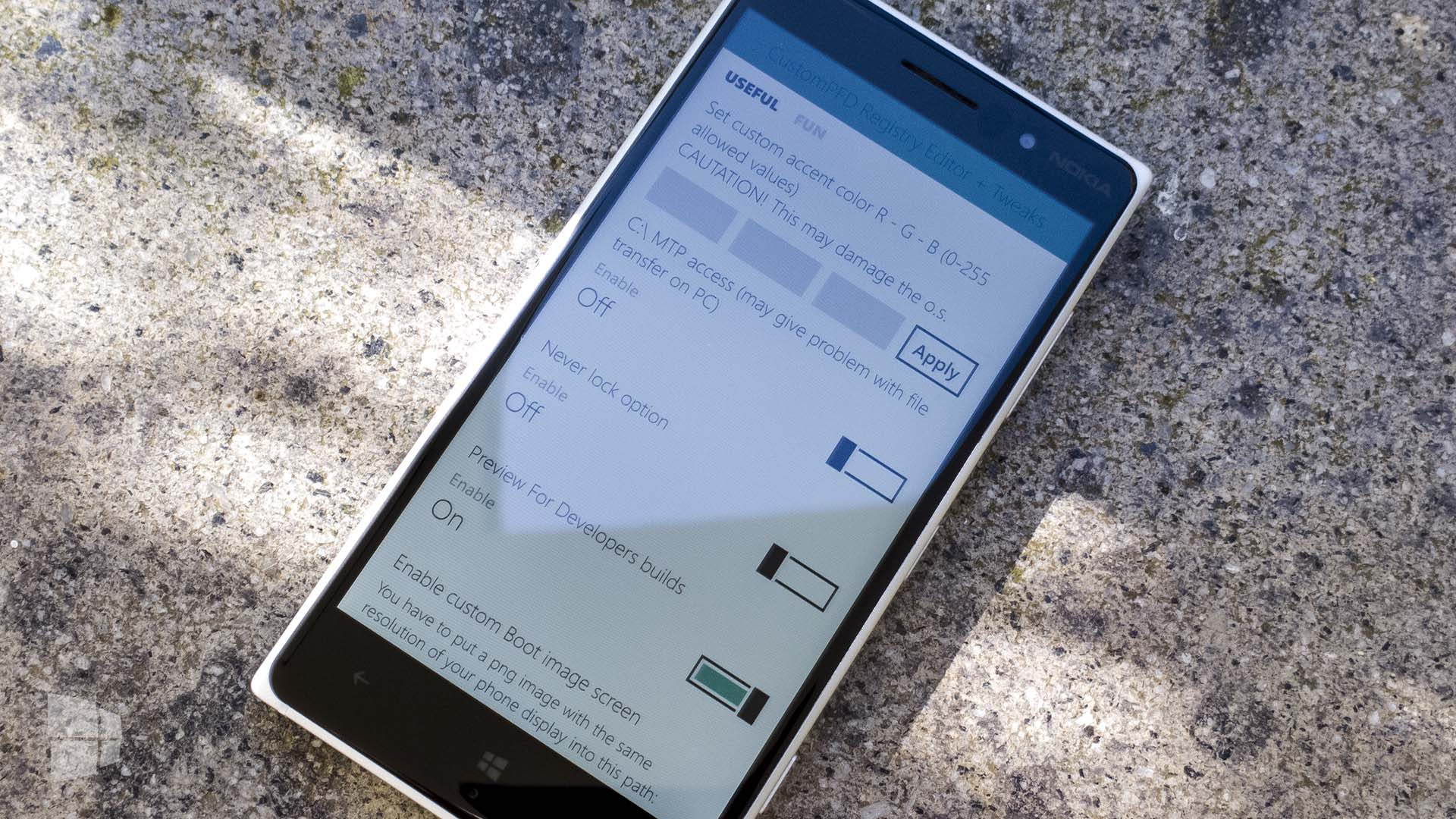 CustomPDF Windows Phone