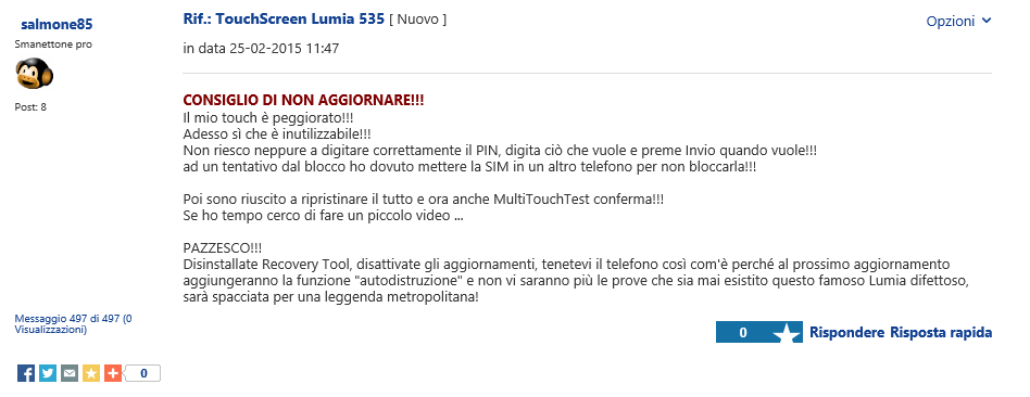 Lumia 535 NA