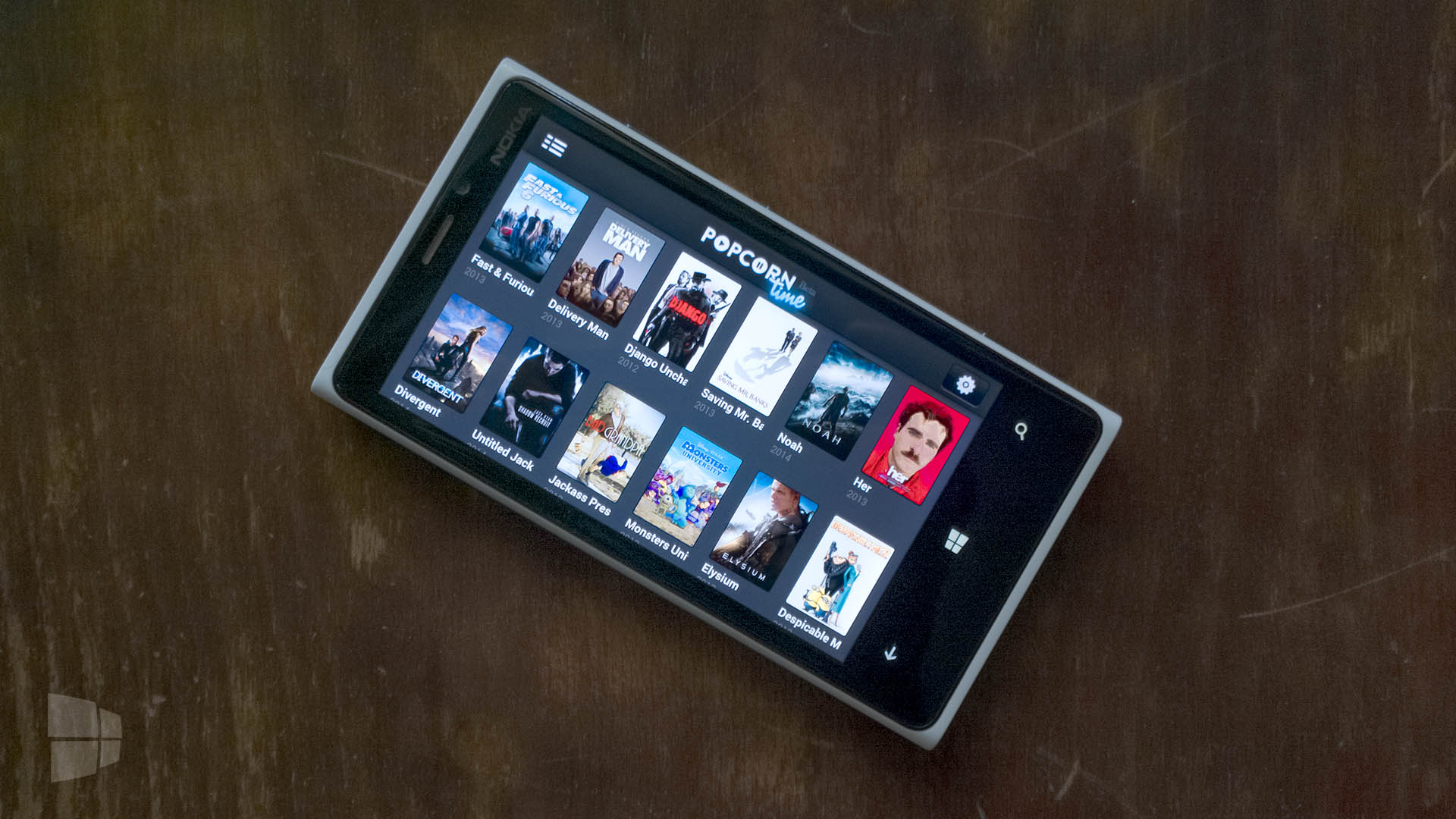 Popcorn Time Windows Phone