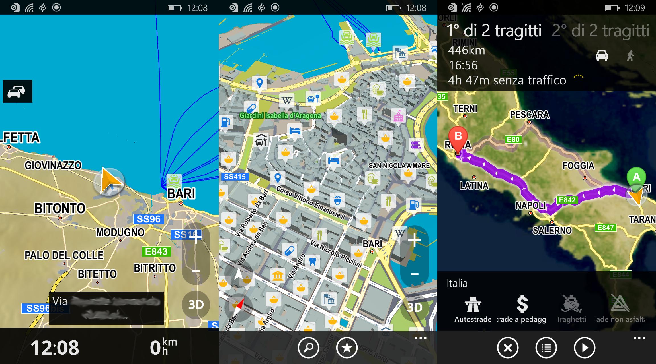 Recensione del nuovo navigatore offline per Windows Phone