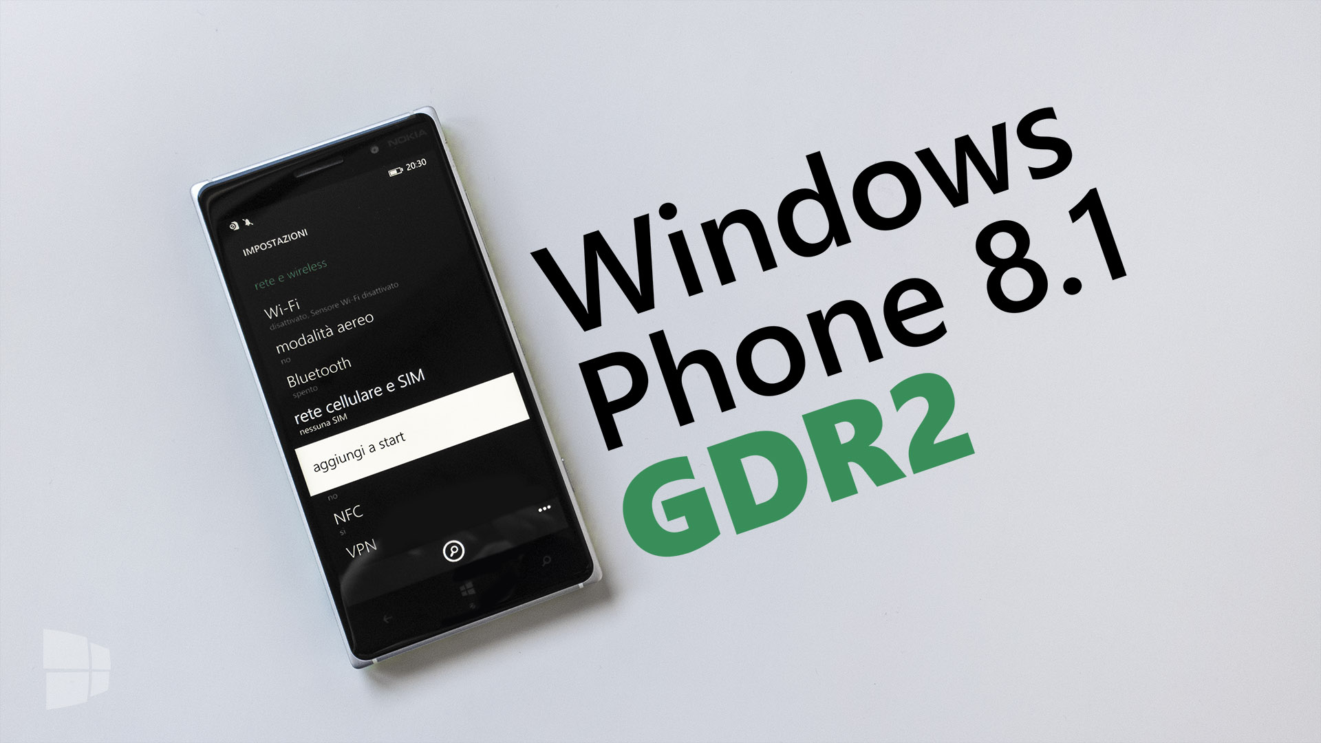 Windows Phone 8.1 Update 2 GDR2