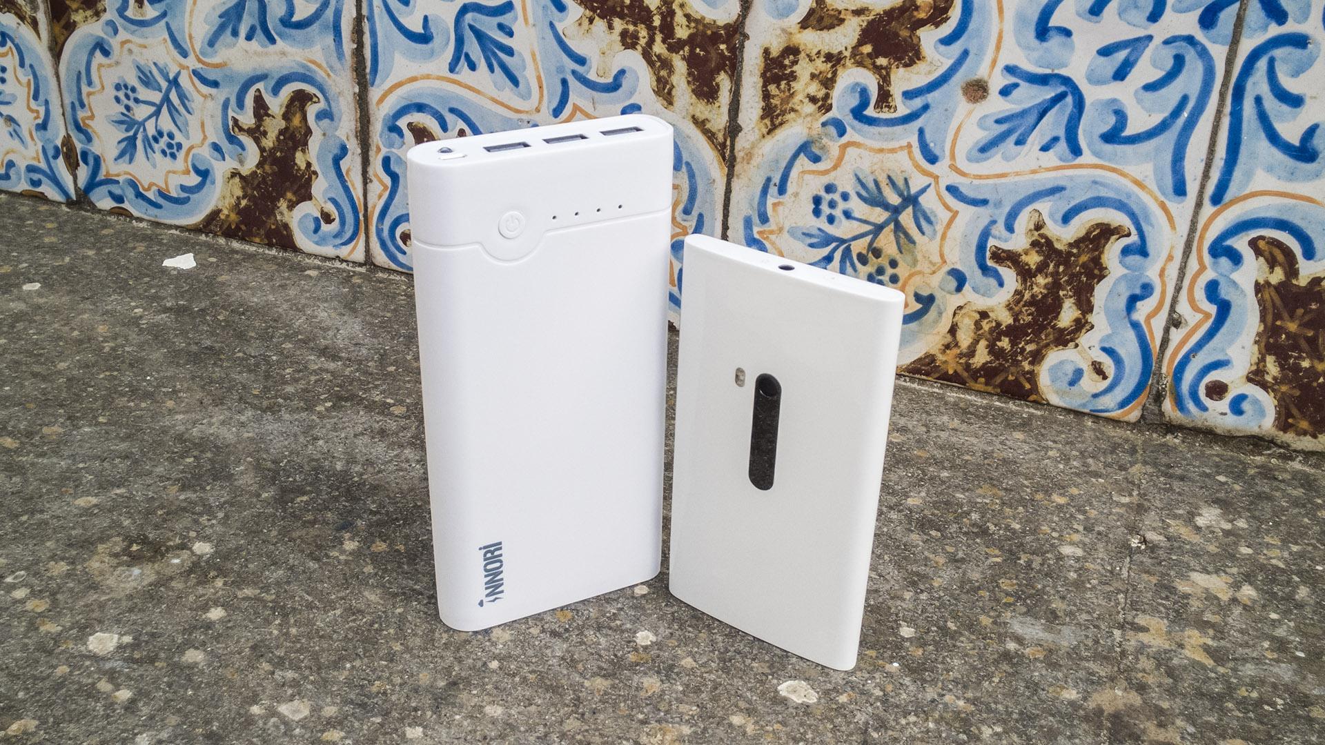 INNORI Caricabatterie Portatile Batteria Esterna 22400mAh Power Bank (3)