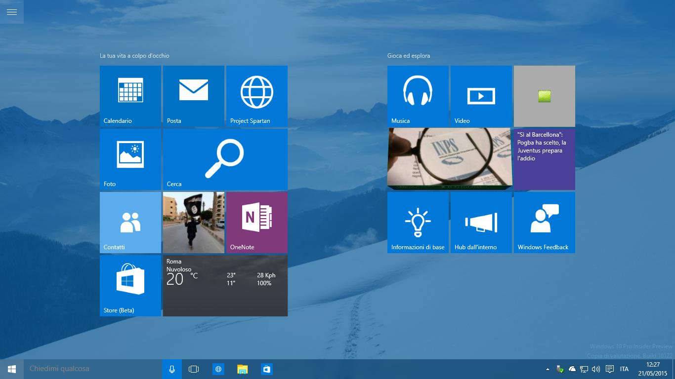 Windows 10 Build 10122 (123)