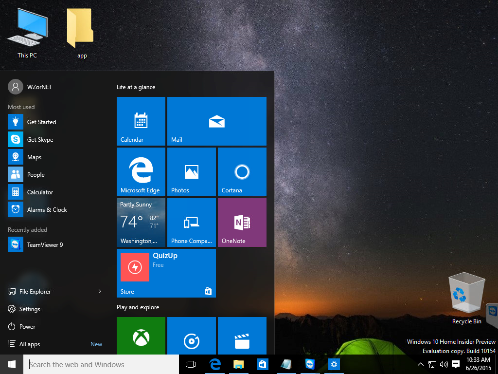 Builda 10154 leaked screenshots  (1)