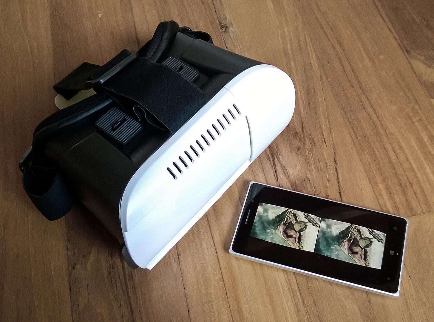 Unboxing 3D Innori visore stereoscopico realtà virtuale