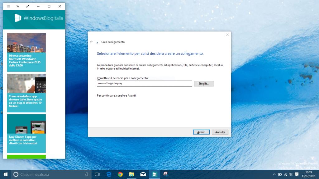 Collegamento impostazioni Desktop (2)