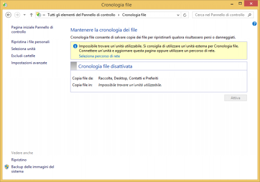 Cronologia File Windows 8