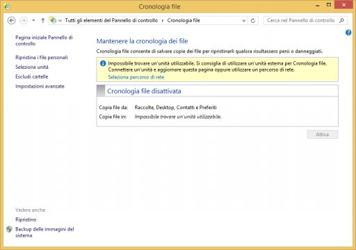 Cronologia File Windows 8