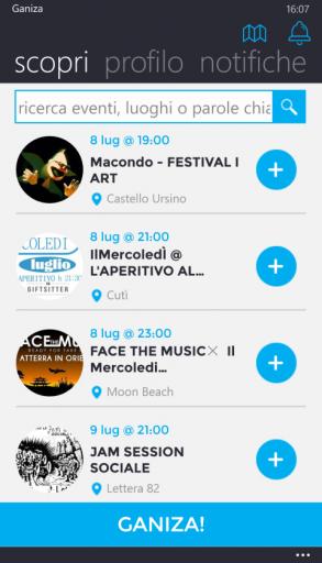 Lista eventi (1)