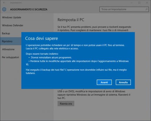 Versione Precedente Windows 10_3