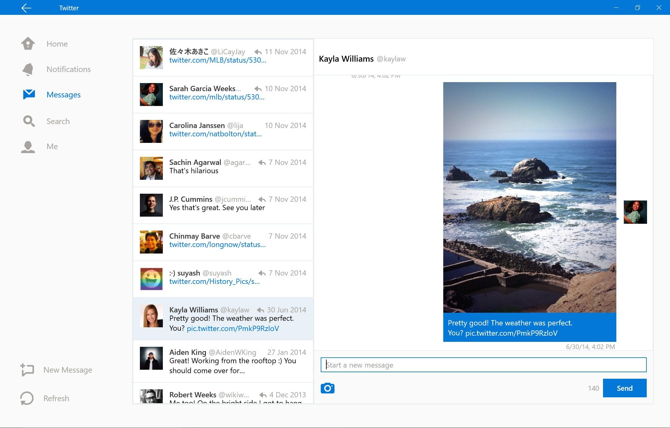 Twitter apps for windows 7 desktop.