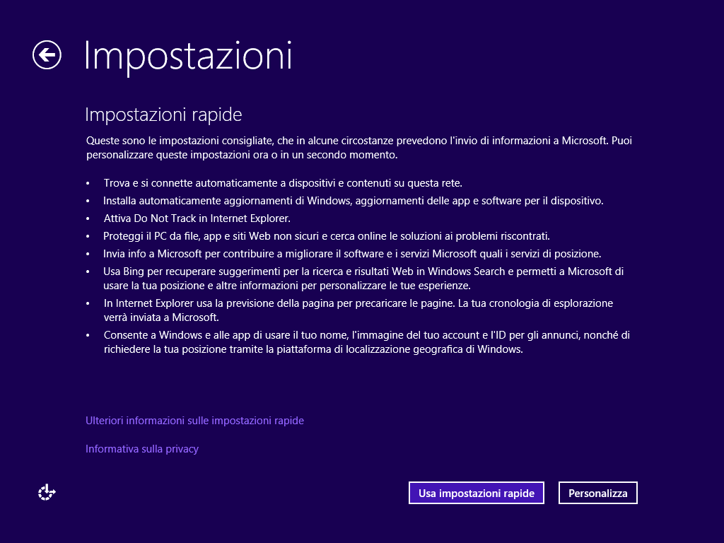 Guida per tornare da windows 10 al sistema operativo for La licenza di windows sta per scadere