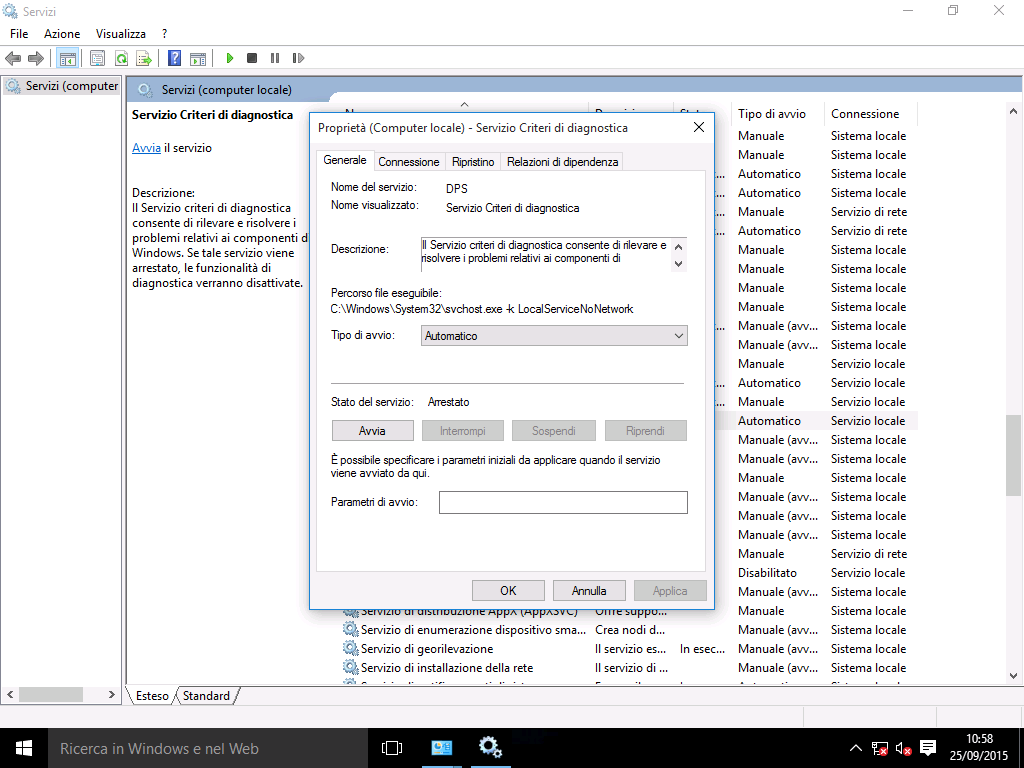 (2) Bloccare l'invio dei dati con Windows Firewall