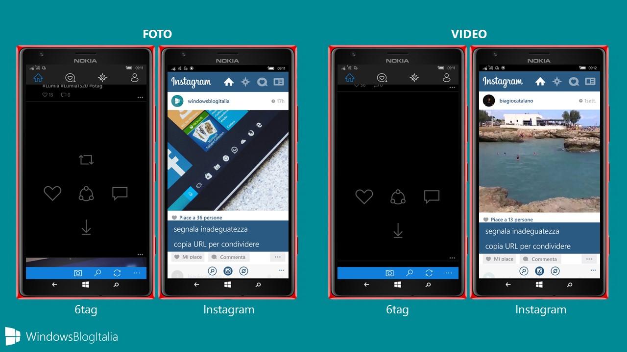 4 - Funzionalita aggiuntive immagini e video