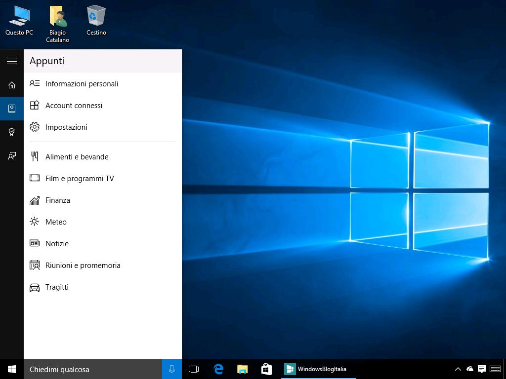 Cortana_appunti