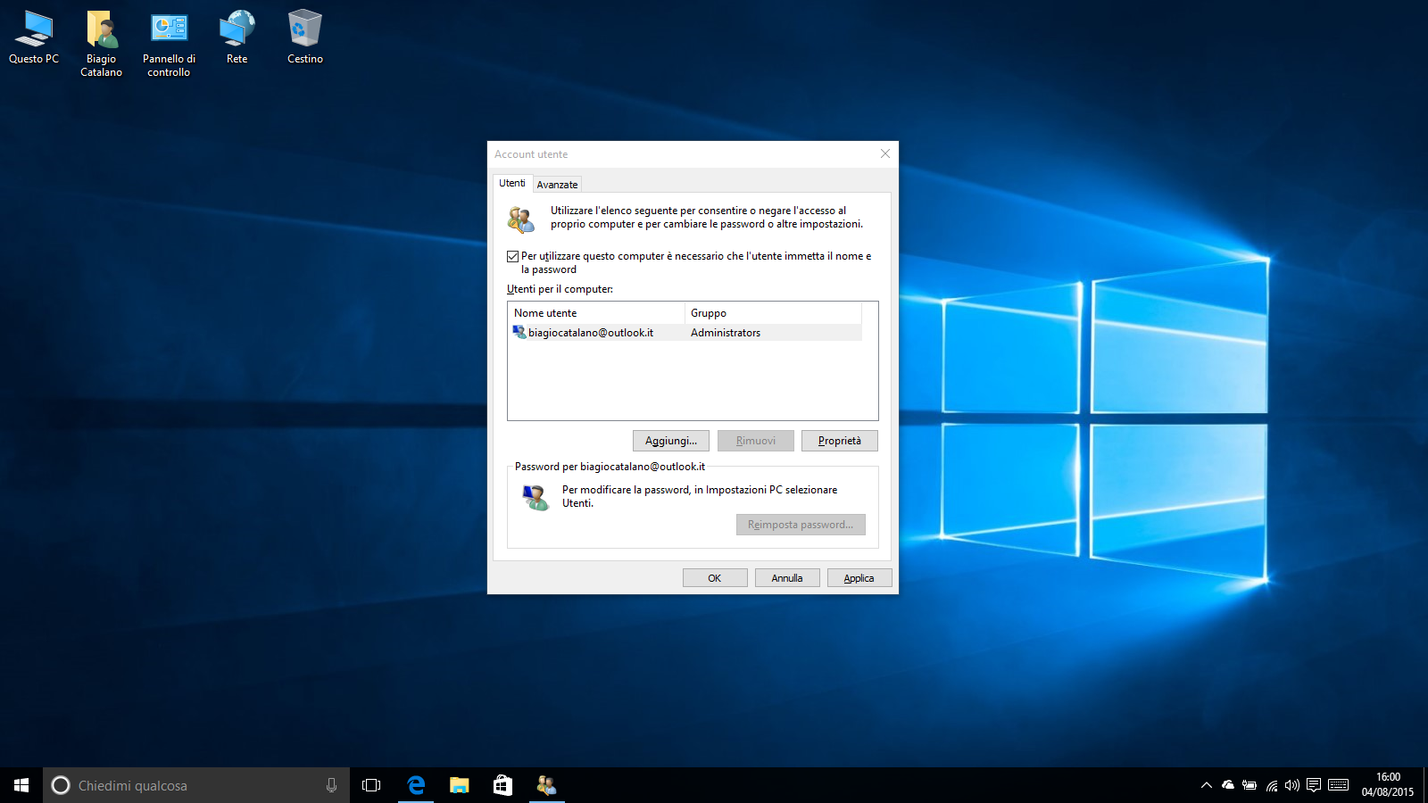 how to change win 8.1 login color