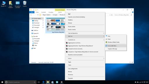 Apri con Windows Store Windows 10 10547