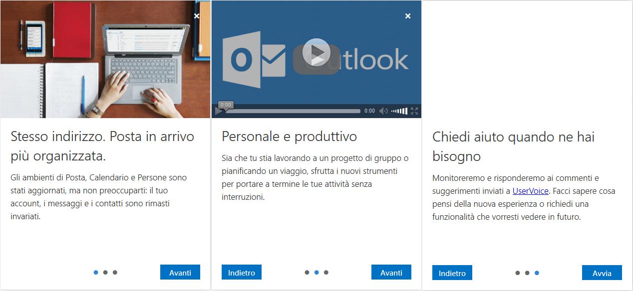 Avvio Outlook.com NEW