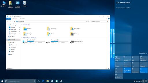 Colore Windows 10 10547