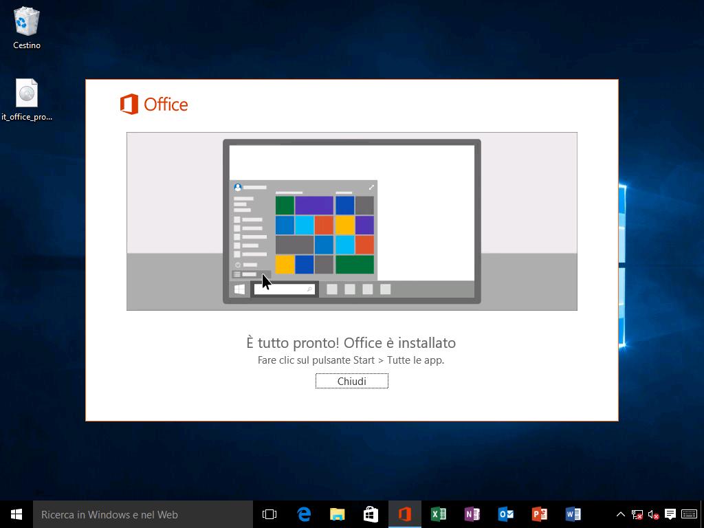 Come installare Office 2016 - 3