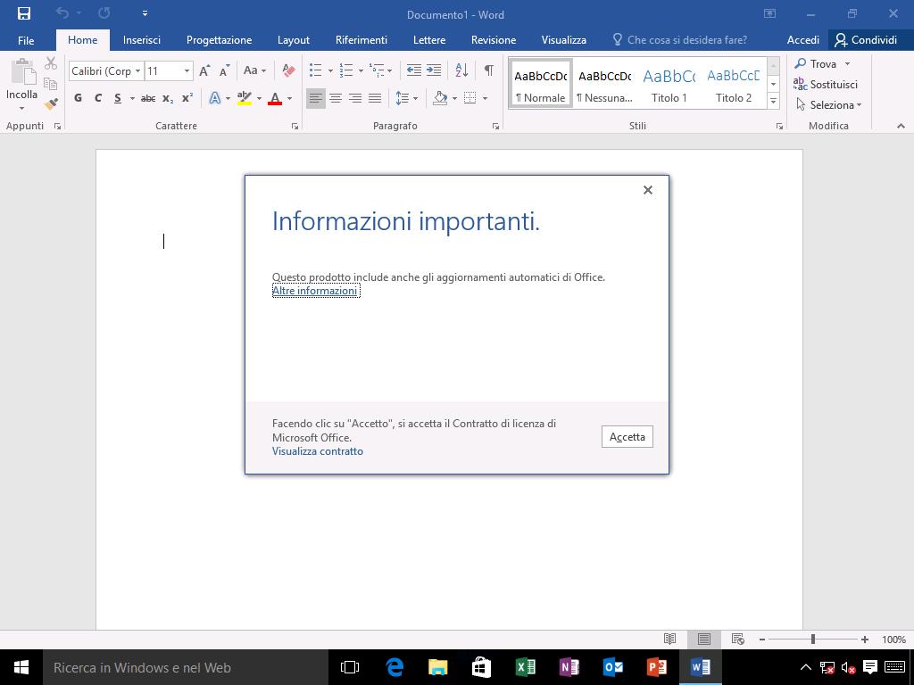 Come installare Office 2016 - 5