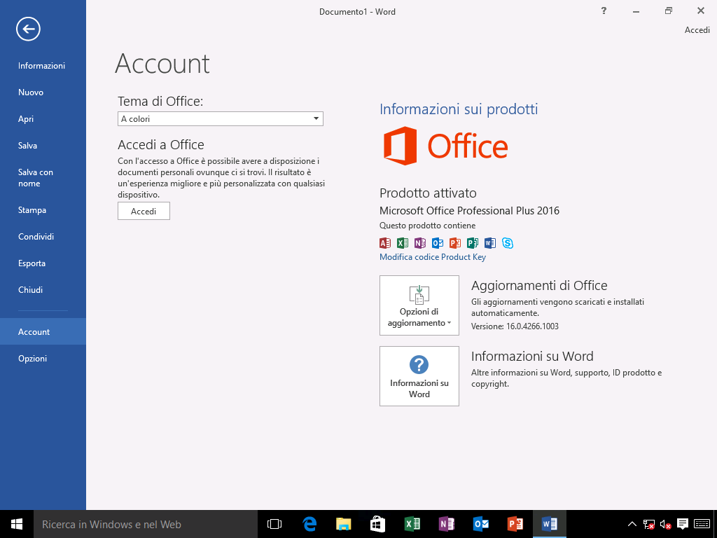 Come scaricare, installare e attivare Office 2016 e Office 365